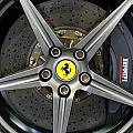 Brembo Carbon Ceramic Brake On A Ferrari F12 Berlinetta by Dutourdumonde Photography