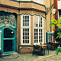 Bremen Schnoor Cafe by Pati Photography