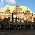 Bremen Town Hall Germany by Christiane Schulze Art And Photography