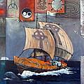 Brendan Voyage by Val Byrne
