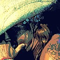 Bret Michaels With Harmonica by Michelle Frizzell-Thompson