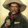 Brewery Ad 1889 by Padre Art