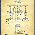 Brewing Beer And Ale Apparatus Patent Drawing From 1873 - Vintag by Aged Pixel