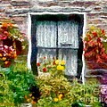 Brick And Blooms by RC DeWinter