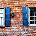 Brick And Shutters by Holly Blunkall