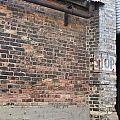 Brick Building Stop by Anita Burgermeister