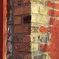 Brick Corner Close Up by Anita Burgermeister