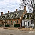 Brick House Tavern In Williamsburg by Olivier Le Queinec