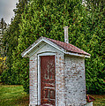 Brick Outhouse by Paul Freidlund