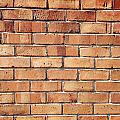 Brick Wall by Les Cunliffe
