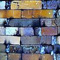 Brick Wall Of A Pottery Kiln by Anna Ruzsan