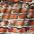 Brick Wall Shadows by Henrik Lehnerer