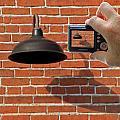 Brick Wall Snap Shot by Christopher McKenzie
