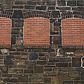 Bricked Windows   #2561 by J L Woody Wooden