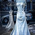 Bridal Dress Window Display In Ottawa Ontario by Randall Nyhof
