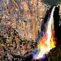 Bridalvail Falls Yosemite National Park by Bob and Nadine Johnston