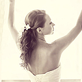 Bride At The Window by Jenny Rainbow