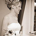 Bride Awaits Her Groom by Amanda Elwell