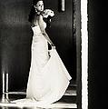 Bride I. Black And White by Jenny Rainbow