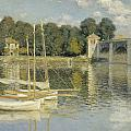 Bridge At Argenteuil by Georgia Fowler
