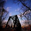 Bridge At Dusk by Anthony Ackerman