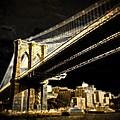 Bridge At Night by Gilda Parente