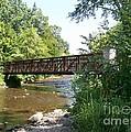 Bridge At Waubonsie Creek by Laurie Eve Loftin