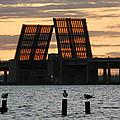 Bridge Closed To Traffic  by Marcus Mapp Sr