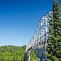 Bridge Connecting Oregon And Washington by Jess Kraft
