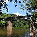 Bridge Crossing The Potomac River by James Brunker