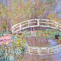 Bridge In Monet's Garden by Claude Monet