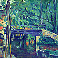 Bridge In The Forest By Cezanne by John Peter
