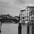 Bridge In The Gran Canal by David Resnikoff