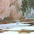 Bridge In Winter by Roland Stanke