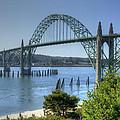 Bridge Newport Or 1 B by John Brueske