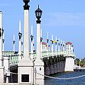 Bridge Of Lions St Augustine Florida by Bill Cobb