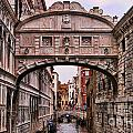 Bridge Of Sighs In Venice by Brenda Kean