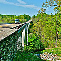 Bridge Over Birdsong Hollow At Mile 438 Of Natchez Trace Parkway-tennessee by Ruth Hager