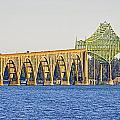 Bridge Over Coos Bay by AJ  Schibig