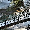 Bridge Over Frozen River by Dan Sproul