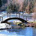 Bridge Over Ice N Snow by William Havle