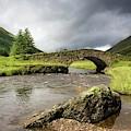 Bridge Over River, Scotland by John Short