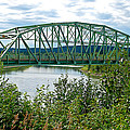 Bridge Over Stewart River From Klondike Hwy-yt  by Ruth Hager