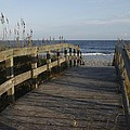 Bridge Over The Dunes At Myrtle Beach by MM Anderson
