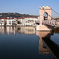 Bridge Over The Rhone River by Laurel Talabere
