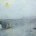 Bridge Over The River Thames by Lesser Ury
