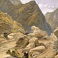 Bridge Over The Sutlej At Wangtoo by William 'Crimea' Simpson