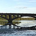 Bridge Reflection by Brenda Conrad
