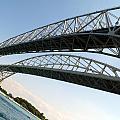 Bridge To Canada 02 by Cynthia Porter
