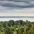 Bridge To Mackinac by Margie Hurwich